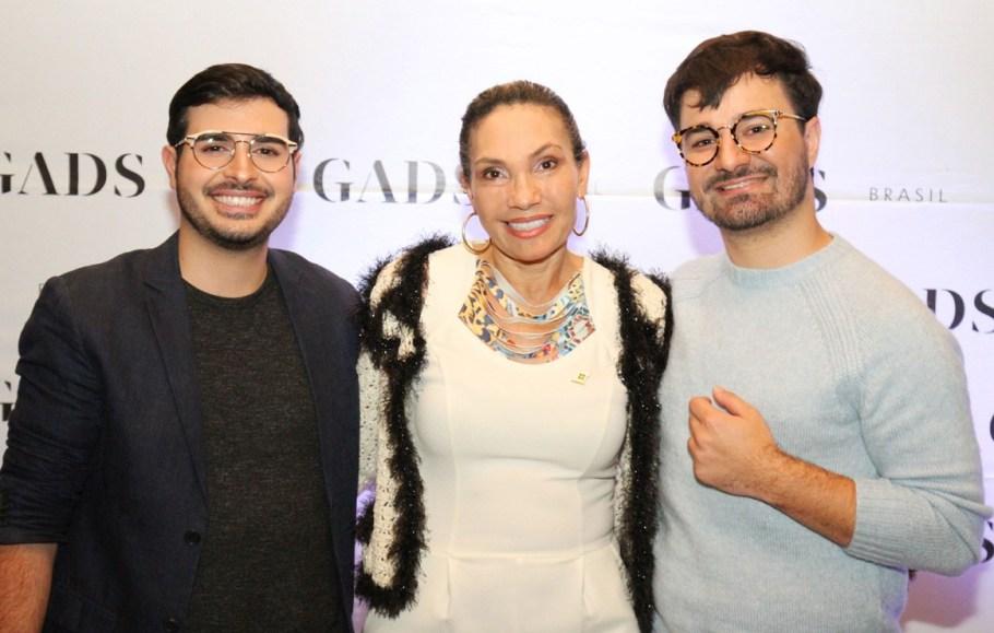 Daniel Abem, Nena Queiroz e Felipe Abem