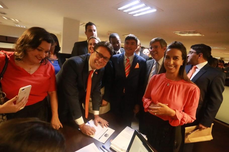 Délio Lins e Silva Júnior  foi eleito novo presidente da OAB/DF