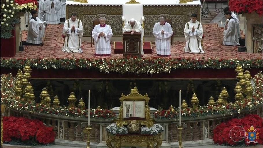 Papa Francisco Natal de 2018