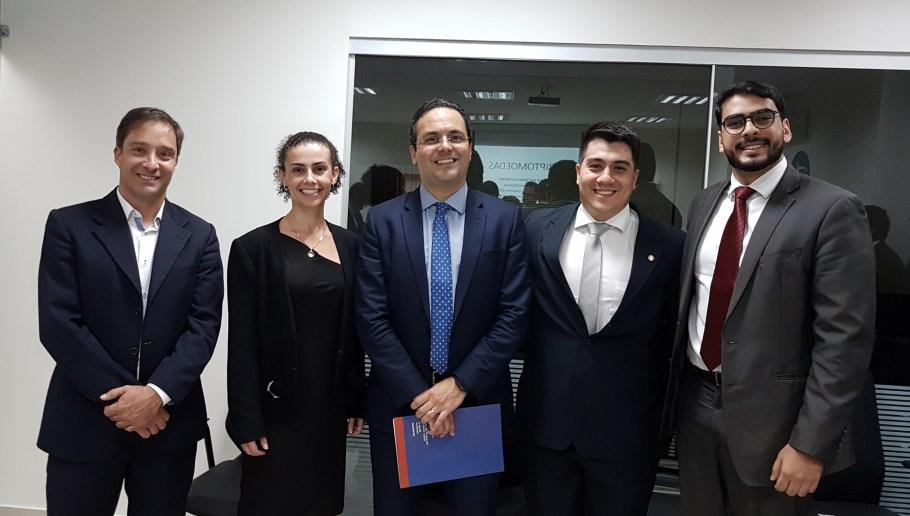 Rafael Albernaz, Andréa Longhi, André Luiz Santa Rosa, Igor Sampaio e Phelipe Pacheco