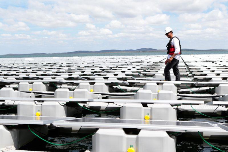 Usina Fotovoltaica Flutuante, Rio São Francisco