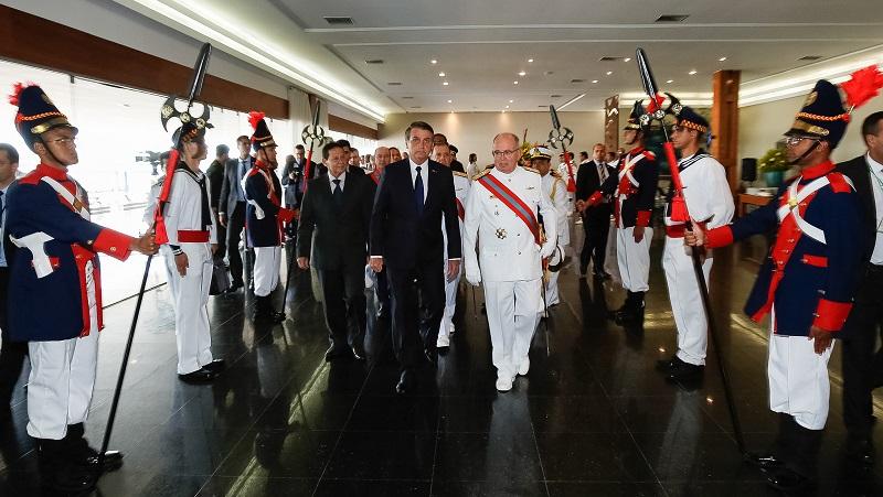 Bolsonaro no comando Marinha