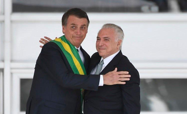Posse do presidente Jair Bolsonaro