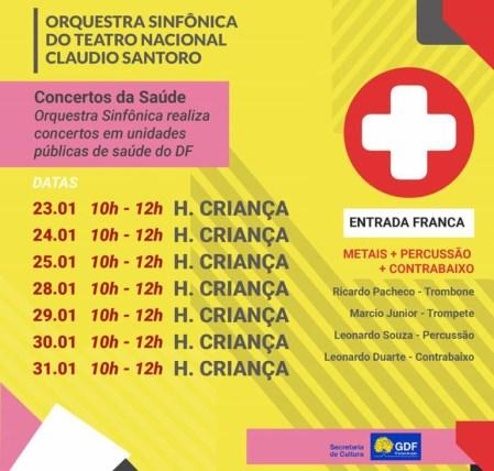 Concertos da Saúde 2019 - bernadetealves.com