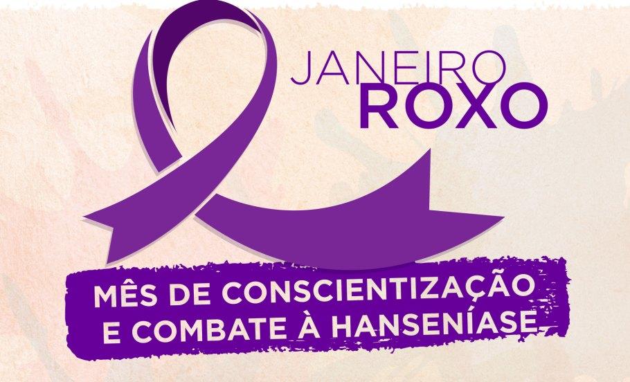 Janeiro Roxo 2019 - Conscientização e combate à Hanseníase bernadetealves.com
