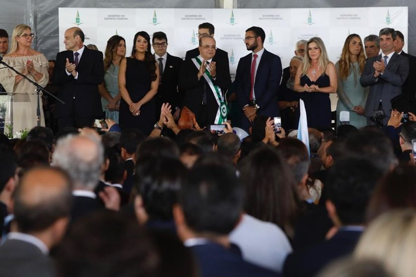 Posse Governador Ibaneis Rocha  - bernadetealves.com