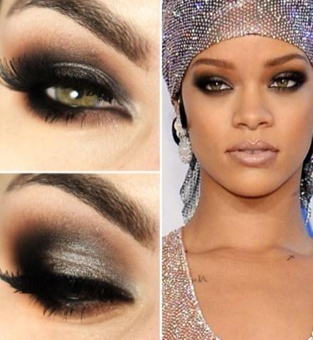 Rihanna maquiagem - bernadetealves.com