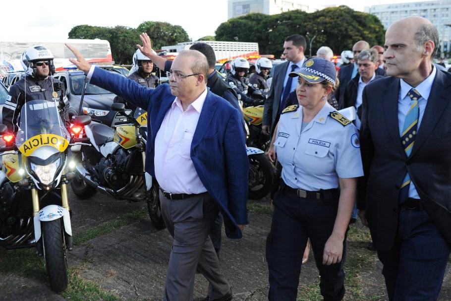 Ibaneis lança SOS Segurança