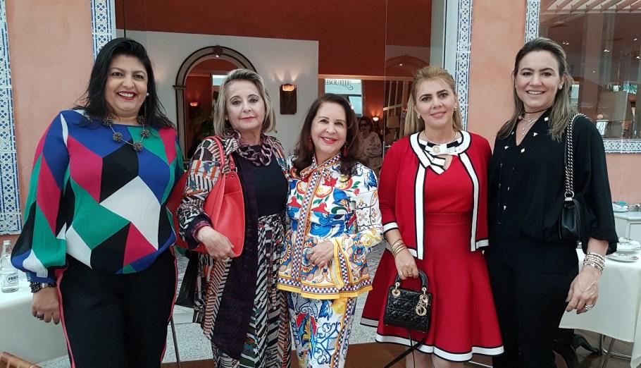 Nayra Falcão, Vanja Moreno, Augusta Lobo, Diana Paula Guerra e Benigna Venâncio