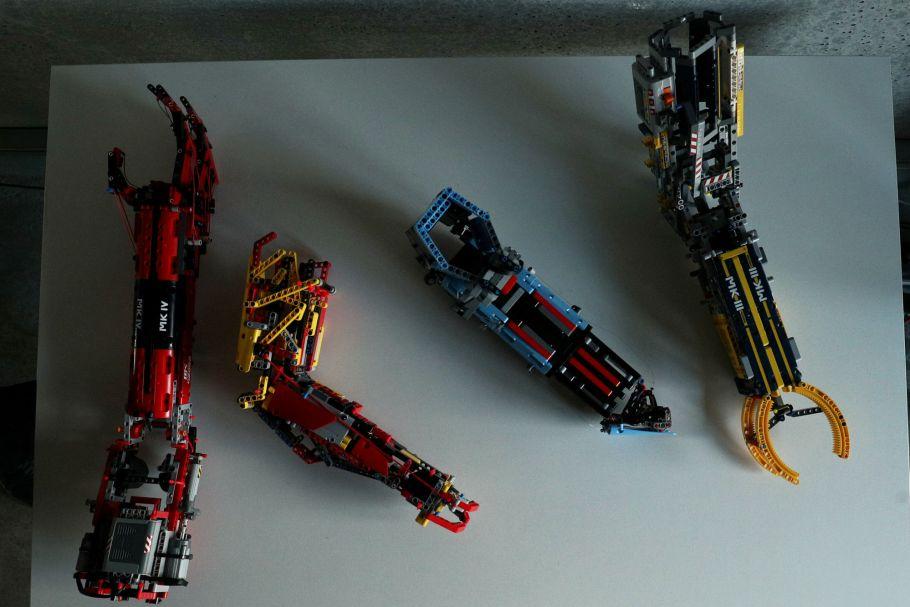 David Aguilar cria prótese de Lego - bernadetealves.com