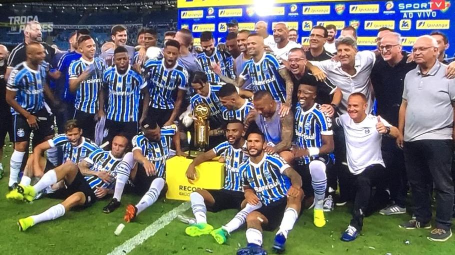 Grêmio conquista Recopa Gaúcha 2019 - bernadetealves.com