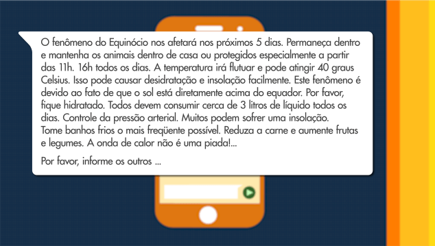 Manipular fatos na internet - bernadetealves.com