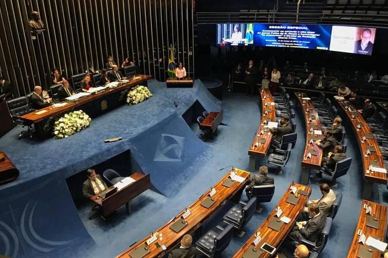 Senado presta homenagem aos 98 anos da Folha  - bernadetealves.com