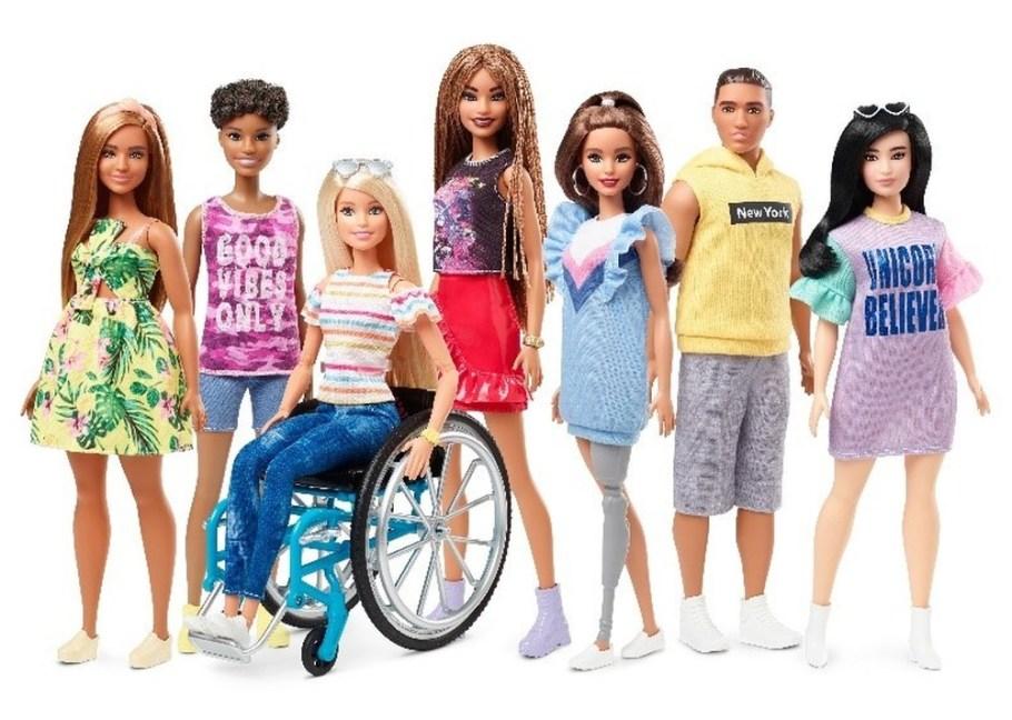barbie inclusivBarbie completa 60 anos - bernadetealves.com