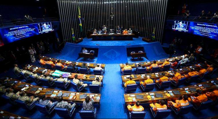 Senado homenageia Bombeiros da tragédia de Brumadinho - bernadetealves.com