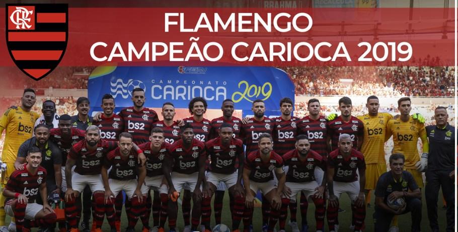 Flamengo campeão carioca 2019 - Bernadete Alves