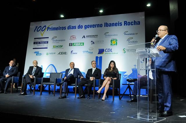 Empresários celebram os 100 primeiros dias do governo Ibaneis - bernadetealves.com