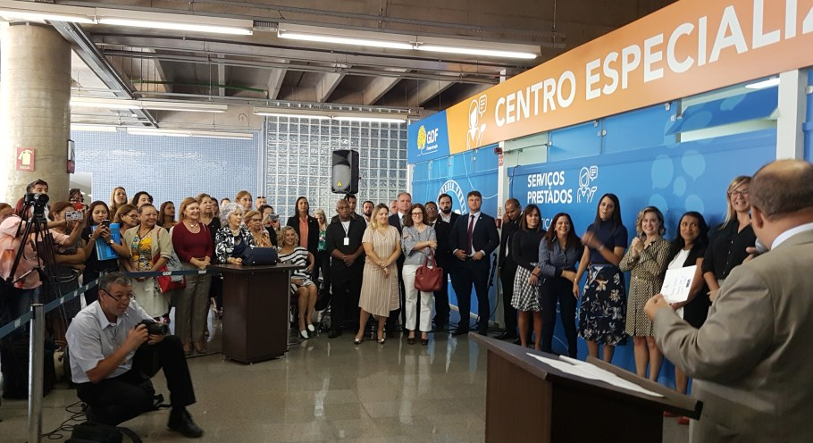 GDF entrega Centro Especializado de Atendimento à Mulher  - bernadetealves.com