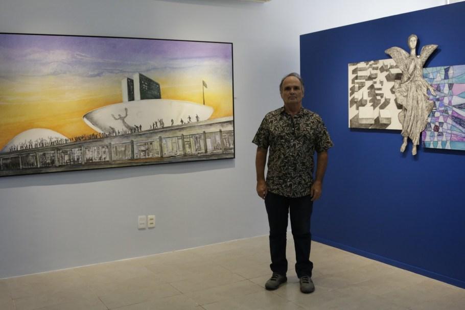 Miragens de Paulino Aversa  no Espaço Cult da  PaulOOctávio - Bernadete Alves