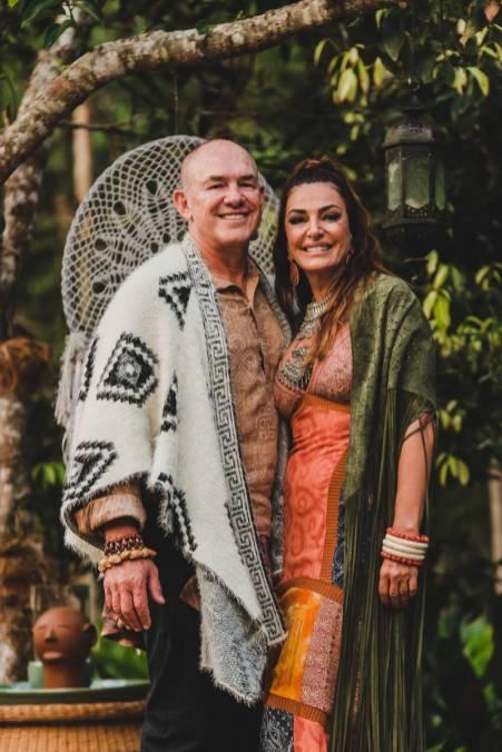 Rodrigo Amaral e Ana Paula Gonçalves