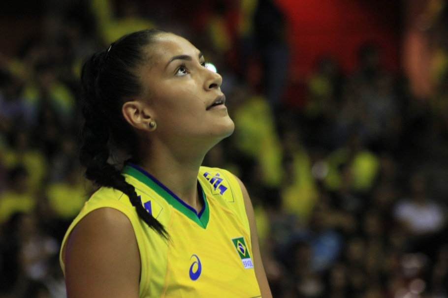Brasil - Liga das Nações Feminina 2019 - etapa brasília - Tainara - Bernadete Alves