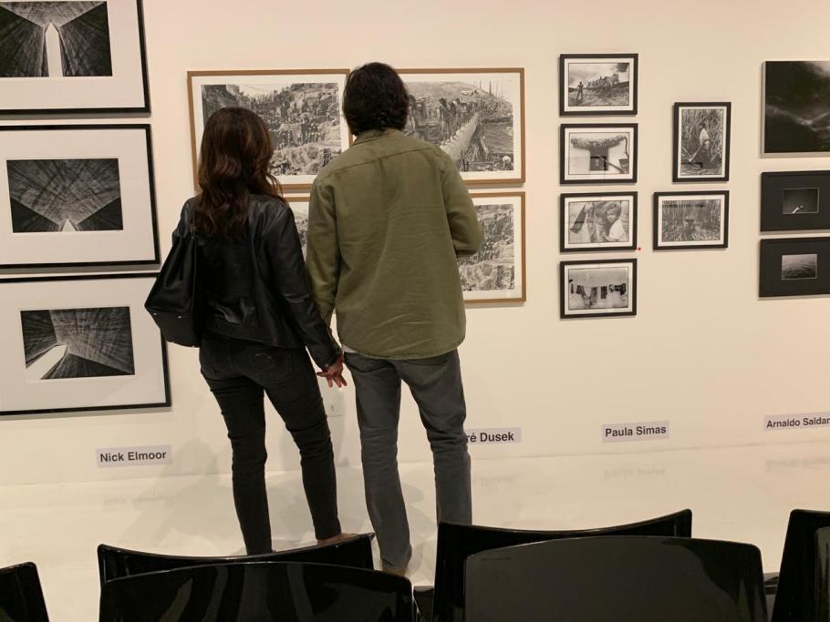 Exposição 1`+1 = 14  no CasaPark - Fátima Bernardes e Túlio Gadelha - Bernadete Alves