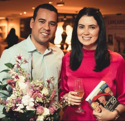 Rodrigo Pinheiro e Rayana Araújo