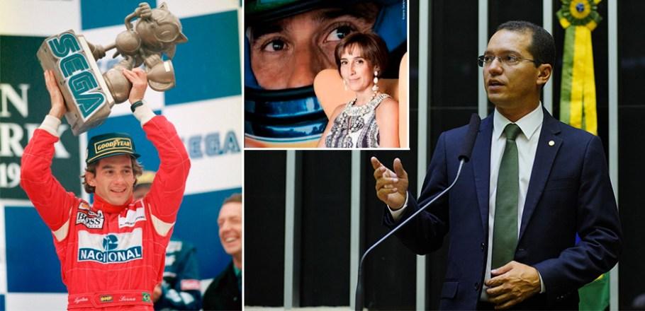 Sessão Solene em homenagem aos 25 anos do Instituto Ayrton Senna -deputado Carlos Tito - Câmara dos Deputados -  Bernadete Alves