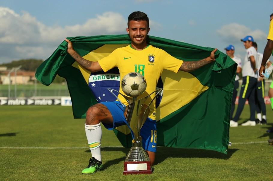 Brasil Sub-23 campeão Torneio de Toulon - França- Matheus Henrique - Bernadete Alves