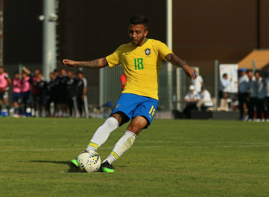 Brasil Sub-23 campeão Torneio de Toulon - França- Matheus do Grêmio- Bernadete Alves