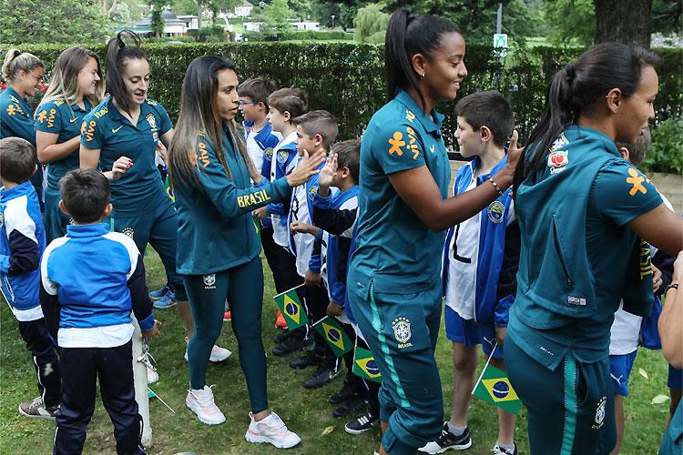 Seleção Brasileira de Futebol Feminino - Copa do Mundo França 2019 - Bernadete Alves
