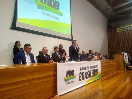 Rafael Prudente assume MDB-DF com apoio de Sarney - Bernadete Alves