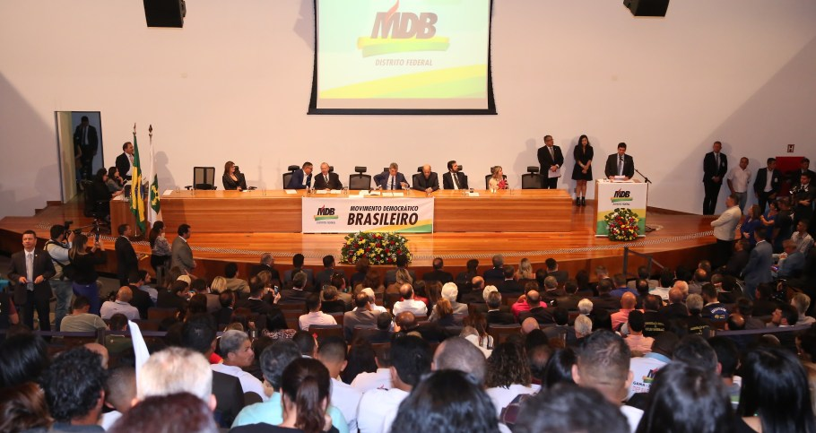 Rafael Prudente assume comando do MDB-DF com bênçãos de Sarney  - Bernadete Alves