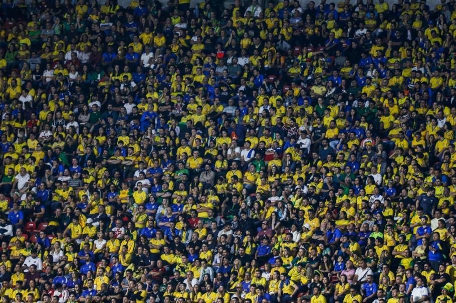Abertura Copa América 2019 - Morumbi- Brasil e Bolivia - Bernadete Alves