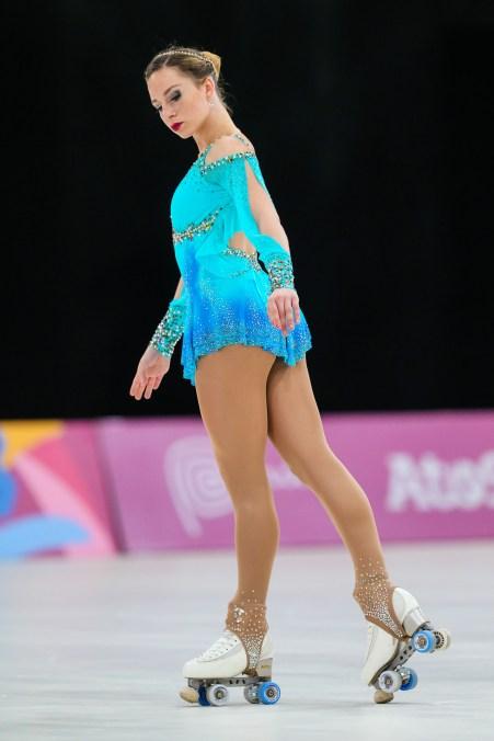 Patinadora Bruna Wurts, ouro no Pan 2019