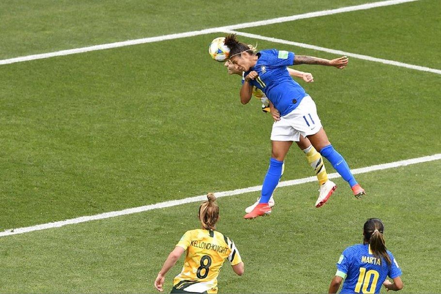 Gol mais bonito na Copa do Mundo feminina na França é do Brasil - Bernadete Alves - Bernadete Alves