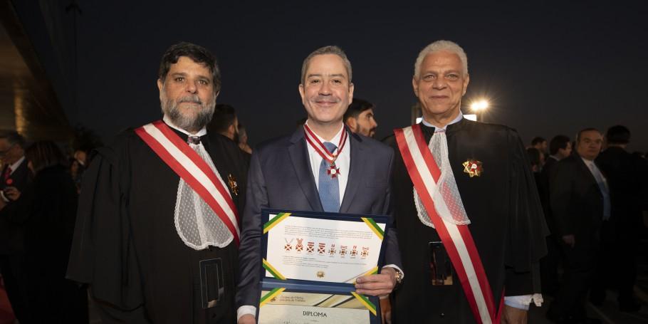 TST entrega Ordem do Mérito  do Trabalho 2019 - Bernadete Alves