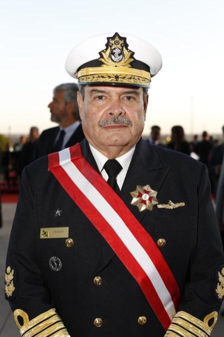 Almirante Marcus Vinicius, presidente do STM