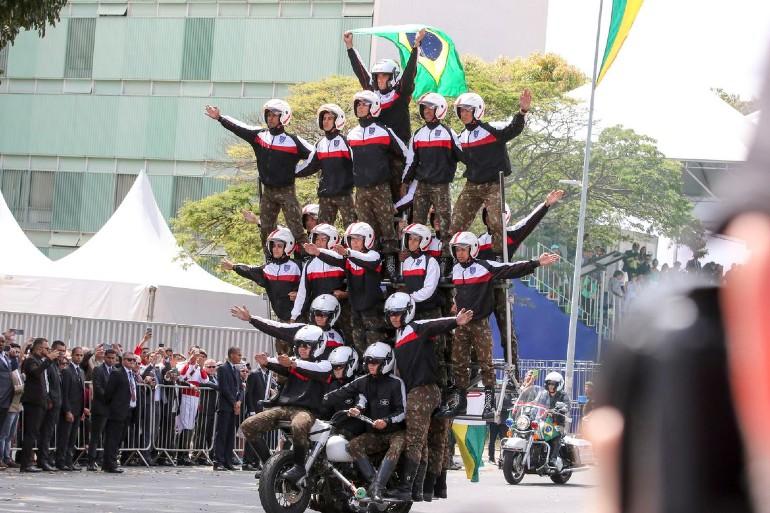 Desfile de 7 de Setembro em Brasília - Bernadete Alves