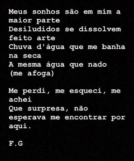 Poema de Fernanda Gontijo Gonzaga