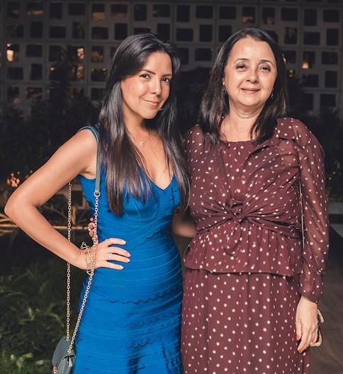 Nina Rocha e Eliane Rocha