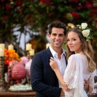 Famílias Adriano e Bittar celebram o amor dos herdeiros Carolina e Lucas