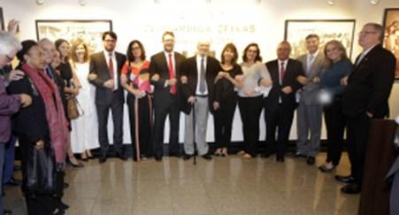 Délio Lins e Silva Júnior, presidente da OAB-DF inaugura Galeria Sigmaringa Seixas