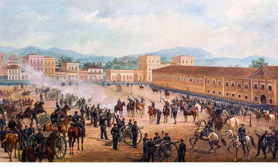 Brasil comemora 130 anos da Proclamação da República - Bernadete Alves
