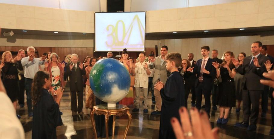 TBV celebra 30 anos com ações pela Paz no Mundo - Bernadete Alves