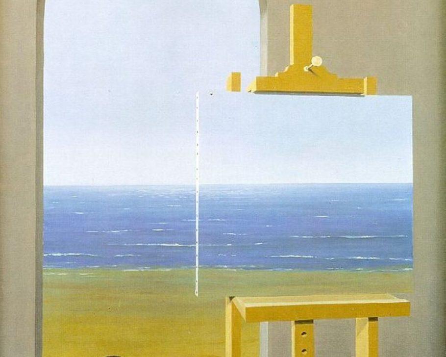 A condição humana (René Magritte)