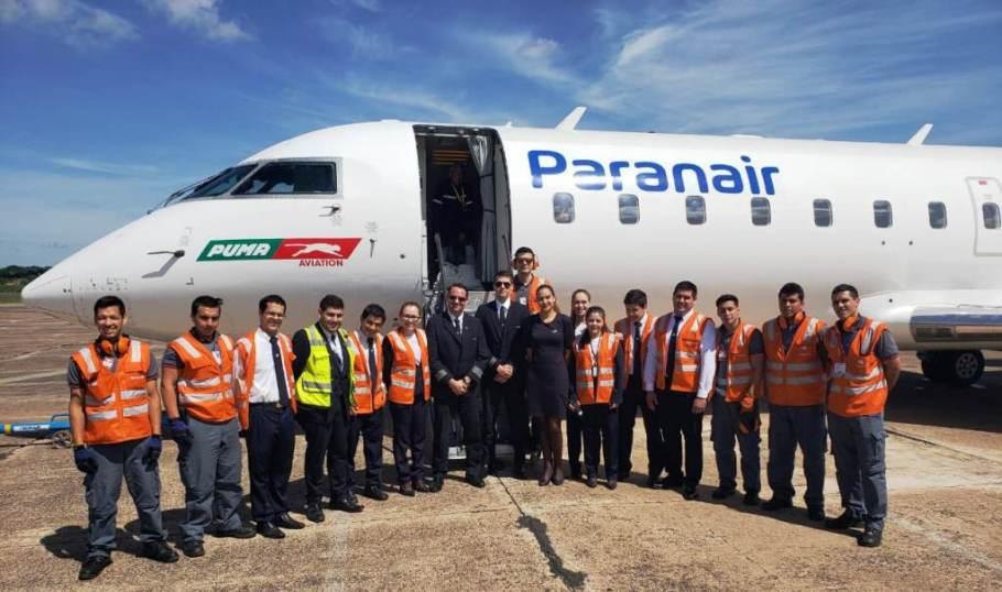 Brasília opera voo direto para a capital do Paraguai -Paranair - Bernadete Alves