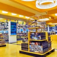 Lego inaugura loja oficial com realidade aumentada