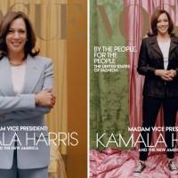 """Kamala Harris é capa da revista """"Vogue"""" americana"""