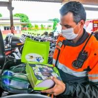Grupamento de Atendimento Pré-Hospitalar dos Bombeiros recebe investimentos